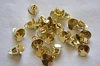 Колокольчики металлические (большие) d=15мм (цена за 1шт). Цвет - золото