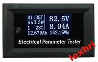 Тестер электрических параметров 100V/10A  семь измерений в одном приборе