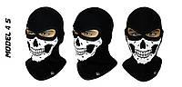 Балаклава з малюнком черепа Radical Skull (Польща), маска, підшоломник
