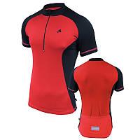 Велофутболка мужская с карманами Radical Racer SX, красная