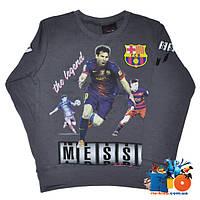 Кофта с футболистом Messi, для мальчиков, с рисунком, 5-6-7-8 лет