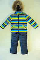 Зимний комбинезон +куртка Фунтик (натуральная опушка)