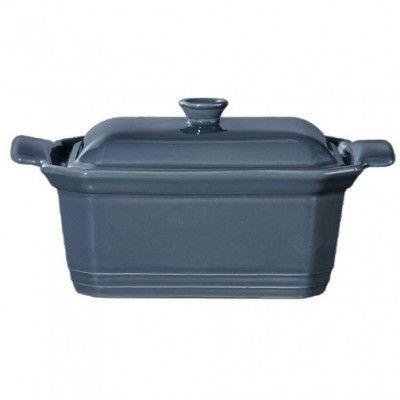 Форма  с крышкой для запекания Emile Henry 20*15*9 см голубая 975891