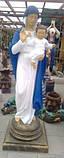 Скульптура Богородицы №4 высота 180 см, фото 6