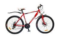 "Велосипед Optimabikes Sprinter 26"" AM 14G DD St рама 17"" 2015 (красно-белый)"