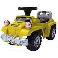Машинка-каталка Alexis-Babymix HZ-553 Yellow