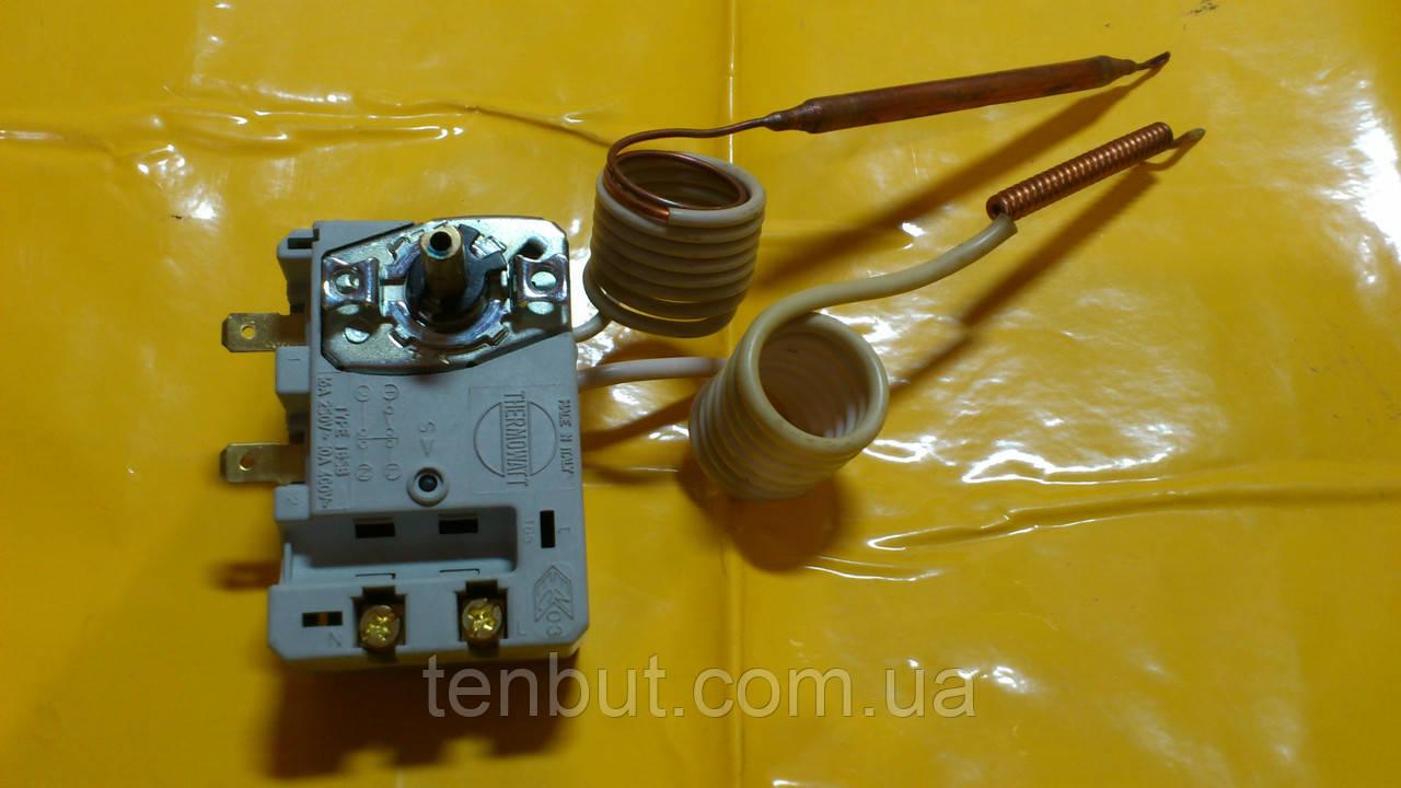 Терморегулятор + защита от перегрева воды для бойлеров Атлантик , производство Италия THERMOWATT аналогCotherm