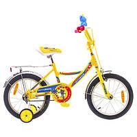 """Велосипед Formula Fitness 14G St 16"""" 2015 (сине-желтый)"""