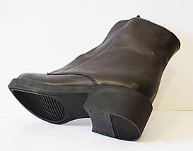 Кожаные зимние женские ботинки Kluchini 3801, фото 3