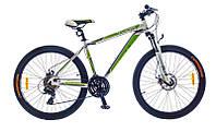 "Велосипед Optimabikes Thor 26"" AM DD рама 17"" 2015 (бело-зеленый)"