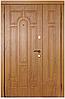 Двери входные полуторная металлические Модель  110