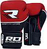 Боксерские перчатки RDX Boxing Glove T9 Red 12oz