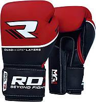 Боксерские перчатки RDX Boxing Glove T9 Red 12oz, фото 1