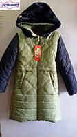 """Пальто для девочки """"Пчелка"""" 38, уп. 5 шт, размер от 32 до 42"""