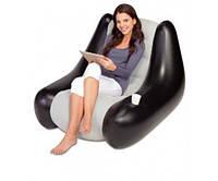 Велюр-кресло надувное 75049 102-86-74см Bestway