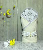 Конверт-одеяло на выписку Piccolino Разные цвета!!! Milky Bear