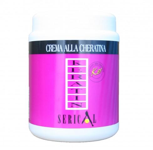 Крем-маска для волосся з кератином Serical Keratin1000 мл