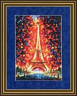 """Набор для вышивания Золотое руно  """"Ночной Париж"""""""