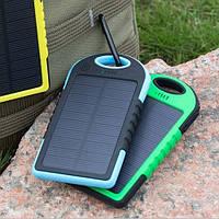 Портативное зарядное устройство (повербанк) Power Bank Solar Charger 20000 mAh
