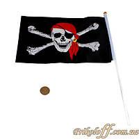 Флаг для пиратской вечеринки, 90/150 см