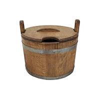 Ведро деревянное 18 л. (ВД 01-49)