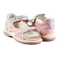 Memo Jaspis Розово-голубые - Ортопедические босоножки для детей