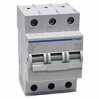 Автоматический выключатель нагрузки Hager MC320A Iн = 20 А 3п характеристика С