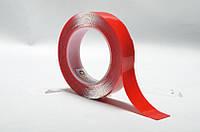 Двухсторонний скотч пеноакриловый (двухсторонняя клейкая лента), толщина 0,8 мм, ширина 8 мм, длина 2м.