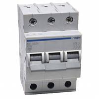 Автоматический выключатель нагрузки Hager MC332A Iн = 32 А 3п характеристика С