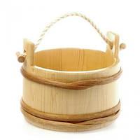 Ведро деревянное 15 л (ВД 01-29)