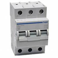 Автоматический выключатель нагрузки Hager MC350A Iн = 50 А 3п характеристика С