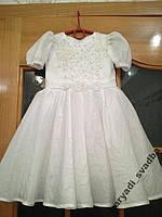 NEW!!! Нежное белое детское платье на 2-4 годика