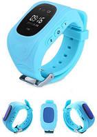 Детские умные часы с gps трекером Smart Baby Watch Q50 Голубые