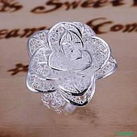 Кольцо. Покриття Серебро 925. 16-21р. 0083