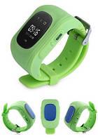 Детские умные часы с gps трекером Smart Baby Watch Q50 Зеленые