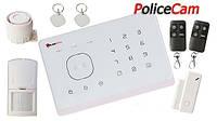 Беспроводной комплект сигнализации PoliceCam GSM 007M2G