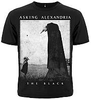 "Asking Alexandria ""The Black"" рок футболка"