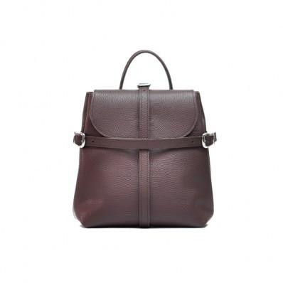 Женский кожаный рюкзак Symbol Wine фиолетовый