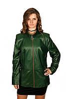 Удлиненная куртка, темно-зеленая, фото 1