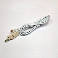 Шнур тестовый для плинта, 4 контакти c коннектором 6P4C, 1.5 м (розрыв)