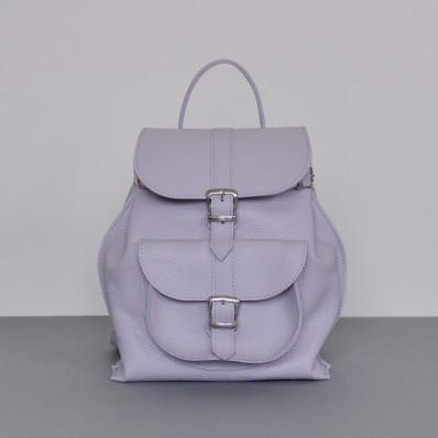 Женский кожаный рюкзак JIZUZ Tulip Cipria лиловый