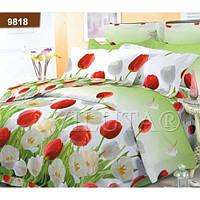 Комплект постельного белья Вилюта ранфорс двуспальный Евро 9818