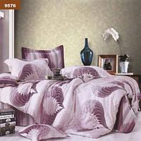 Комплект постельного белья Вилюта ранфорс двуспальный Евро 9576