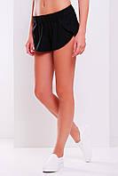 Женские короткие черные шорты Шер