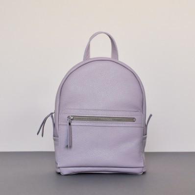 Женский кожаный рюкзак Sport Lilac лиловый