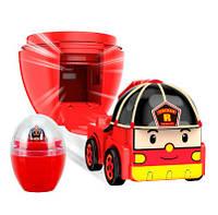 Мини машинка в яйце Рой, 2,5 см. Robocar Poli 83288Р (83288Р(83290))