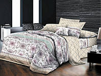 Комплект постельного белья Вилюта сатин Твилл полуторный 604
