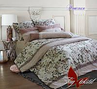 Комплект постельного белья с компаньоном, хлопок ранфорс, двуспальный, Амелия