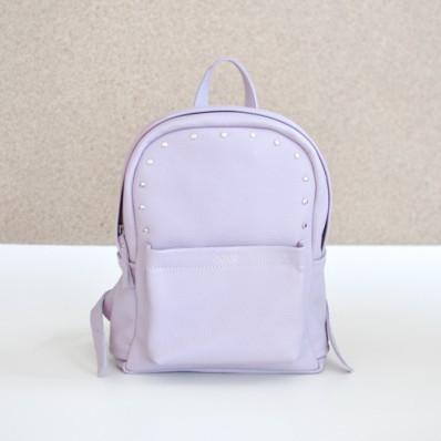 Женский кожаный рюкзак Jizuz Carbon-S лиловый
