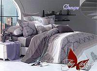 Постельное белье, семейный комплект, хлопок,  пододеяльник (2 шт) 150x215  с компаньоном Дезире